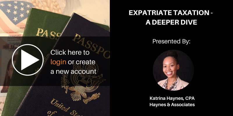 Expatriate taxation