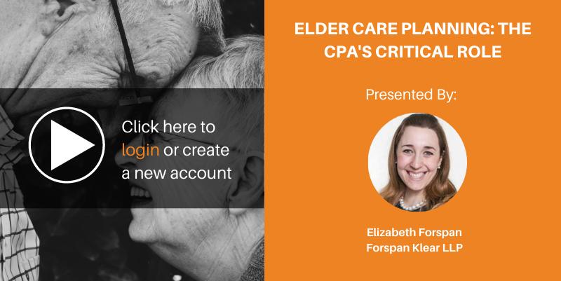 Eldercare selfstudy