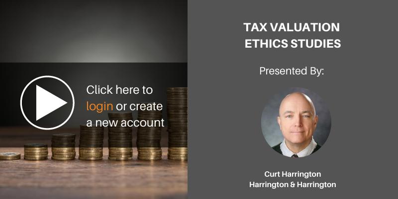 Tax valuation ethics